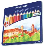 Staedtler 24 Color Pencil In Metal Box