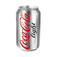 Coca-Cola Soft Drink Can Light 330ML