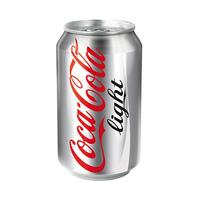 Coca-Cola Soft Drink Can Light 330ML