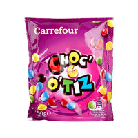 Carrefour Biscuit Choc'O'tiz Pouch 250g