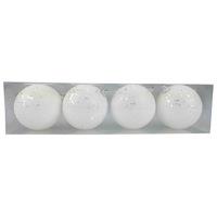 Balls Set 4Pcs 8Cm Polyfoam