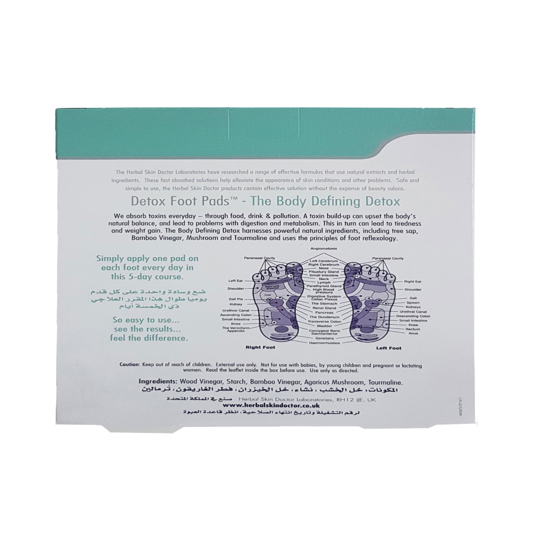 DETOX FOOT PADS 5 DAYS COURSE