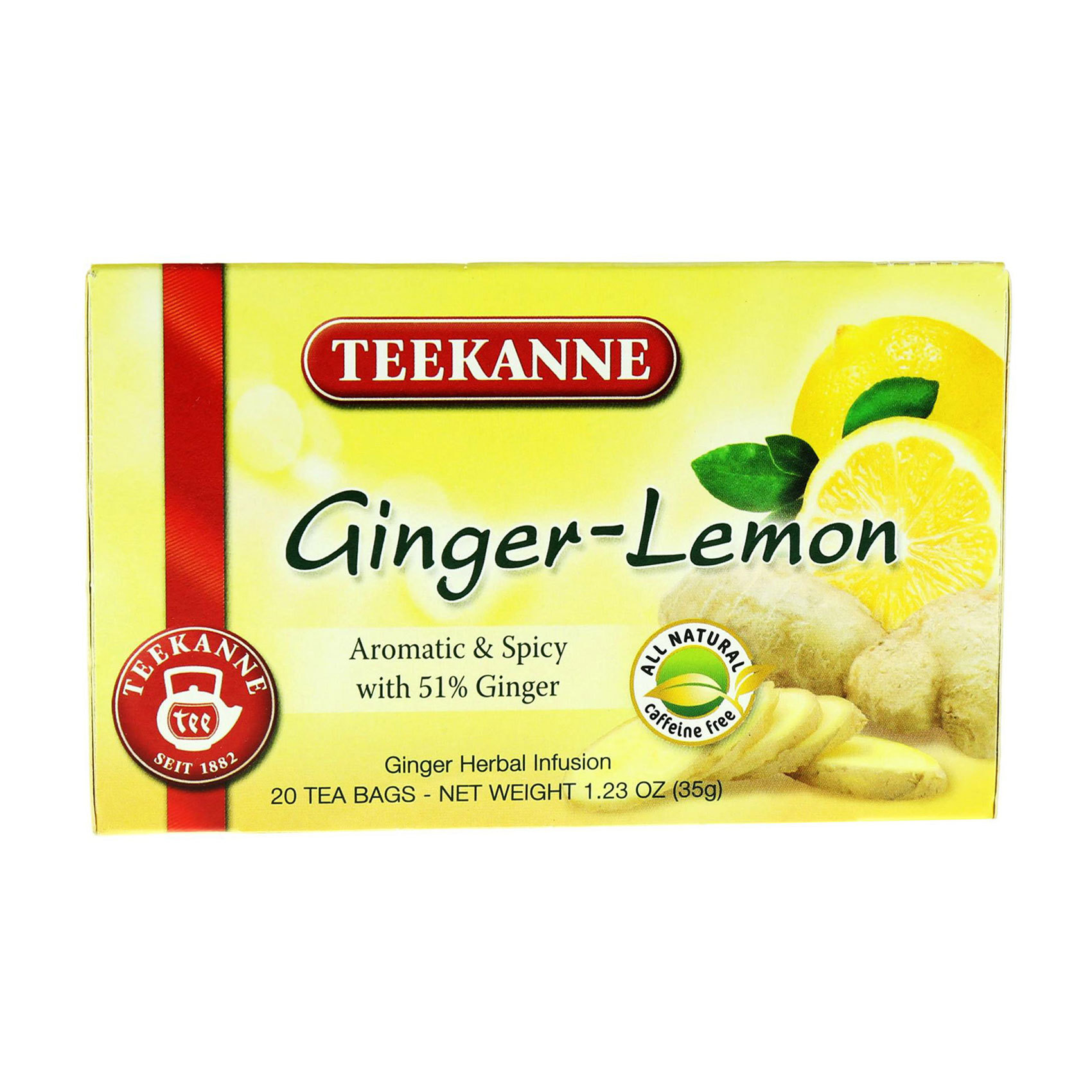 TEEKANNE LEMON GINGER 35G