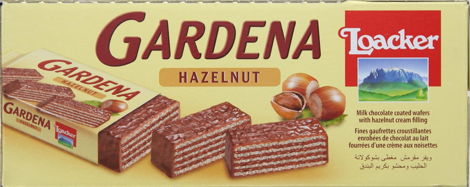 LOACKER GARDENA HAZELNUT 38GRX25