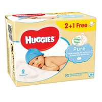 Huggies Baby Wipes Pure 56 Wipes 3 Pieces
