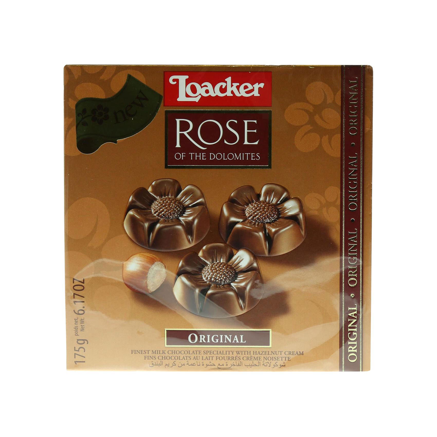 LOACKER ROSE  CHOCOLAT ORIGINAL175G