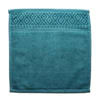 Cannon Face Towel Green 33X33cm