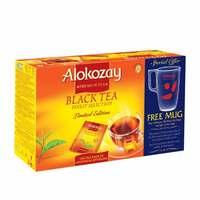 Alokozay Black Tea 100 Tea Bags + Mug