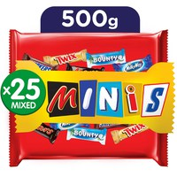 Best mixed of minis chocolate bag 500 g