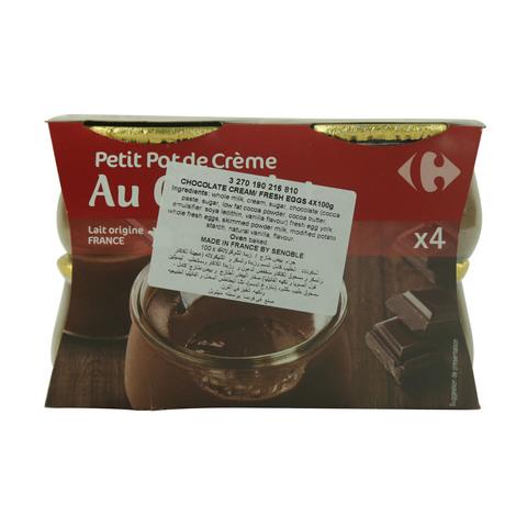 Carrefour-Chocolate-Cream-/-Fresh-Eggs-100g-x-4
