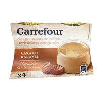 Carrefour Dessert Creme CaramelJar 100gx4