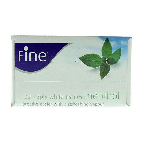Fine-Menthol-White-Tissues-100X3Ply