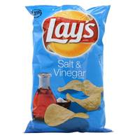 Lay's Sour Chips With Salt and Vinegar 184.2g
