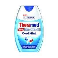 Theramed Liquid Cool Mint Blue 75ML 30% Offer