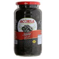 Acorsa Sliced Black Olives 950g