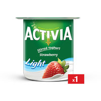 Activia Yoghurt Strawberry Light 120 g