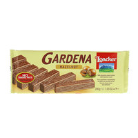 Loacker Gardena Milk Chocolate Coated Wafers with Hazelnut Crem 200g
