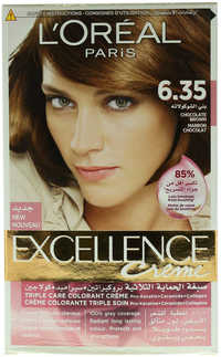 L'Oreal Excellence 6.35 Chocolate Brown Creme