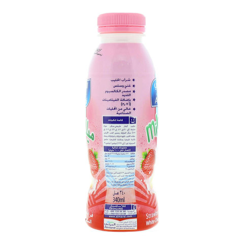 Almarai-Milkshake-Strawberry-with-White-Chocolate-flavor-340ml