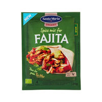 Santa Maria Organic Spice Mix for Fajita Mild 28g