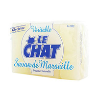 Le Chat Glycerine Soap 200GR X4
