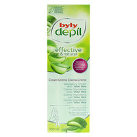 Byly Depil Effective And Natural Depilatory Cream With Aloe Vera 100ml