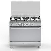 Bompani 90X60 Cm Gas Cooker DIVA9007EC5TCIX