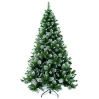 Christmas Tree - Frosted Mixed Green Tree 210Cm N21
