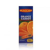 Maccaw Orange Carrot Juice Slim 200ML