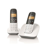 Gigaset Cordless Dual Handset Phone A-490DUO White