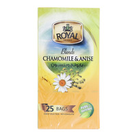 Royal Herbs Blends Chamomile & Anise 25 Tea Bags