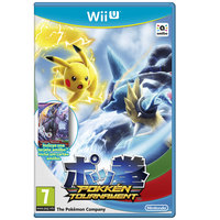 Nintendo Wii U Pokken Tournament+Amiibo Card