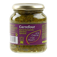 Carrefour Chopped Spinach Cream 370ml