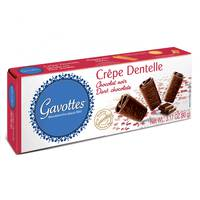 Gavottes Crepe Covered with Dark Chocolate 90g