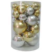 Balls Set 40Pcs Gold/Silver