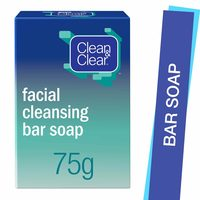 Clean & Clear Bar Soap Facial Cleansing 75g