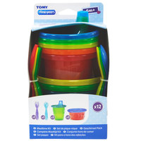 The First Years Take and Toss cups Feeding set, Multicolor