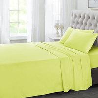 Tendance's Flat Sheet King Mustard 275X260