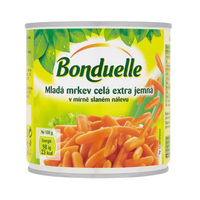 Bonduelle Carrots Yellow 400GR