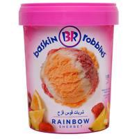 Baskin Robbins Ice Cream Rainbow Sherbet 1L