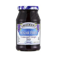 Smuckers Jam Sugar Free Grape 340GR