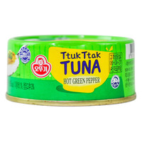 Ttuk Ttak Tuna Hot Green Pepper 100g