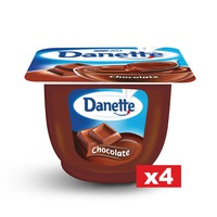 Danette Cream Dessert Chocolate 90gx4