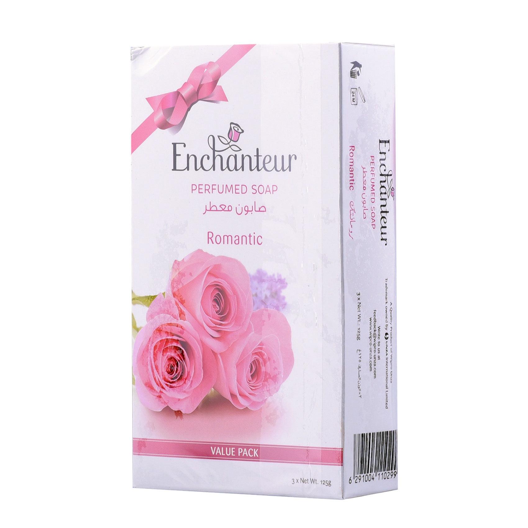 ENCHANTEUR ROMANTIC SOAP 125GX3
