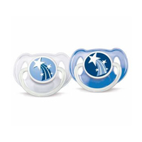 Philips Avent Soother Night Time Pack Of 2 6-18 Months