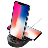 Totudesign Wireless Charger Multi Dock Black