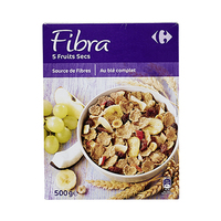 Carrefour Fruits & Fibre Cereal 500GR