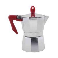 بيدريني غلاية تحضير القهوة 3 أكواب لون أحمر