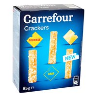Carrefour Crackers Fromage 85g