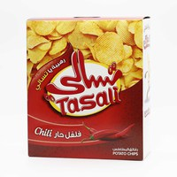 Tasali Potato Chips Chilli 26 g x 12 Pieces